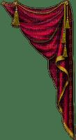 curtain rideau vorhang window fenster fenêtre  room raum espace chambre tube habitación zimmer theatre théâtre theater red