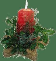 Christmas decorations candle_Noël décorations bougie tube
