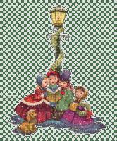 vintage carol singers christmas noel enfants
