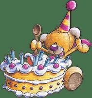 cake kuchen birthday anniversaire teddy bear  deco      tube gâteau