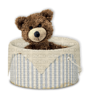 teddy bear deco tube toy sweet