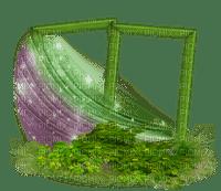 frame spring garden deco