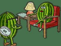 watermelon couple