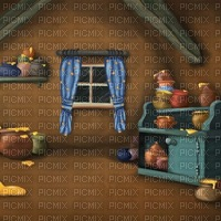 Inside Pooh's Howse
