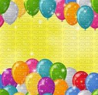image encre couleur anniversaire ballons arc en ciel  edited by me