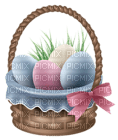 Kaz_Creations Easter Deco Eggs In Basket
