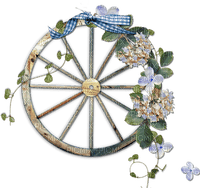 wheel autumn flower fleur deco
