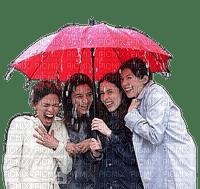 Friends.Rain.amitié.pluie.Umbrella.Parapluie.Victoriabea