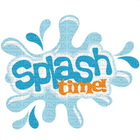 Kaz_Creations Logo Text Splash Time