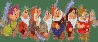 the seven dwarfs snow white