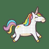 Adorable licorne colored unicorn