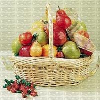 Cadeau de panier de fruits
