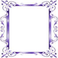 frame purple deco ornament cadre violet