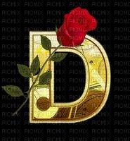 rose dans une lettre