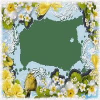 cadre printemps spring  frame