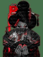 femme, Pelageya ,3D fille ,gothique. miroir, crâne, bougies fashion