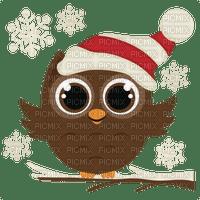 christmas noel owl deco