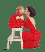 maman bebe mom and baby kiss