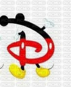 image encre lettre D Mickey Disney edited by me