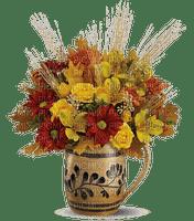 automne  feuille  fleurs vase_autumn  leaves  flowers vase