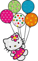 Hello kitty fête ballon multicolore Debutante