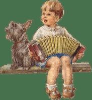 little boy playing music gyerek harmonikával
