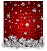 fond snowflakes red winter hiver