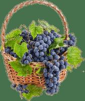 panier raisins deco automne autumn deco grapes