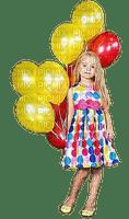 Fille.Girl.enfant.niña.Birthday.Cumpleaños.Balloons.Globos.Victoriabea