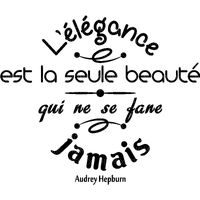 L'élégance.Phrase.texte.citation.Victoriabea
