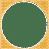 orange circle frame