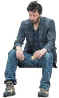 sad man triste homme keanu reaves