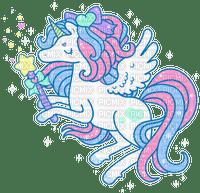 Licorne cute unicorn baguette magique