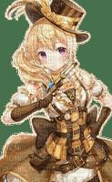 steampunk manga girl femme