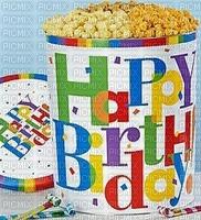 Bon anniversaire le pop-corn Sucré et salé