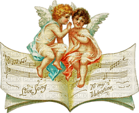 valentin vintage angel ange
