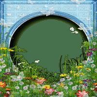 cadre êtê fleur frame summer meadow flowers