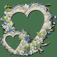 vintage flower fleur blumen fleurs blossom frame cadre rahmen tube  heart coeur