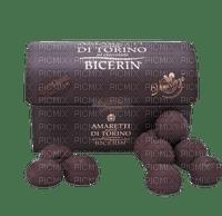 Box Chocolate Text Brown White - Bogusia