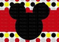 image encre color effet à pois  Disney bon anniversaire  edited by me