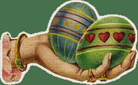 hands easter egg  main pâques oeuf