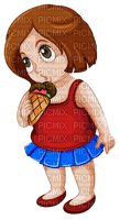 ice cream woman
