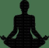zen yoga woman