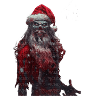 gothic santa gothic christmas