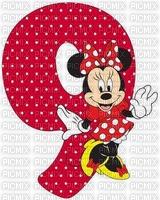 image encre bon anniversaire numéro 9 Minnie Disney edited by me