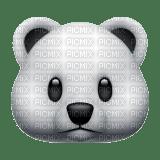 Polar bear emoji