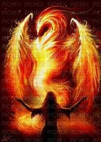 la dame du feu