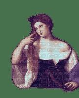 Purple Renaissance Woman