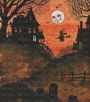 Halloween, Hintergrund, Landschaft, Haus