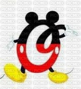 image encre lettre O Mickey Disney edited by me